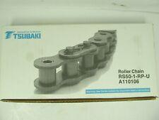 TSUBAKI ROLLER CHAIN RS80-LMD-1-U 120 LINKS 10/' A120007