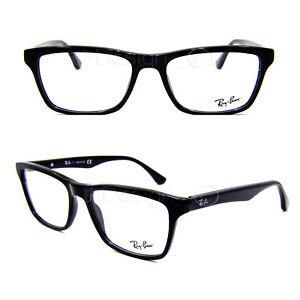 0ce2d67650 Ray Ban RB 5279 2000 Shiny Black 53 18 145 Eyeglasses Rx - New