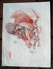 Tim Vigil Original Art B984 Matador Faust