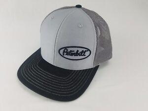 Light Blue Denim White Summer mesh Back    *FREE SHIPPING* PETERBILT HAT