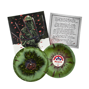Richard-Einhorn-The-Prowler-Exclusive-180g-Army-Green-W-Rose-Petal-Vinyl-LP