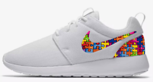 brand new 24766 2dc4f New Nike Roshe Run Custom Autism Awareness All Sizes ...