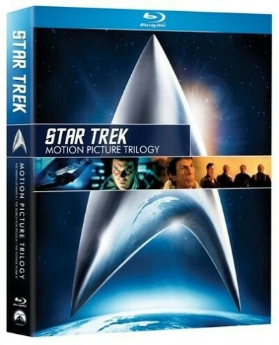 Star Trek - Motion Picture Trilogy - Blu-Ray, Blu-ray,…