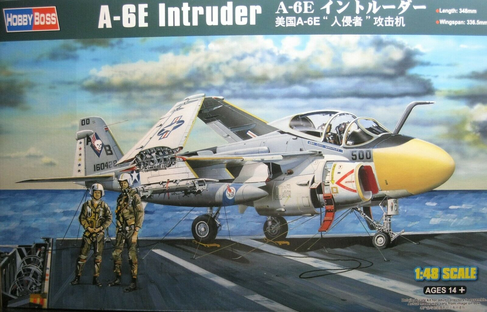 1  48 Grumman A -6E Inkräktare modelllllerlerl Kit av Hobby Boss