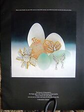 1967 DeBeers Jewelry A Diamond Is Forever Ad
