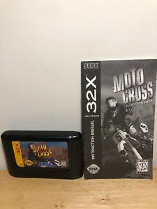 Moto-Cross-Championship-Sega-32X-1994-TESTED-With-Manual