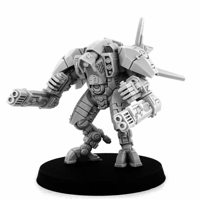 Wargame Exclusive Greater Greater Greater Good Fusion Battlesuit Miniature dessus de Table e649fe