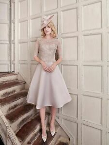 John-Charles-26475-Blush-Long-Mother-of-the-Bride-Wedding-Midi-Dress-UK-10-38
