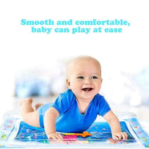 Inflatable Baby Kids Water Play Mat Children Infants Tummy Time Playmat Toy Kits