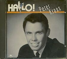 Peter Kraus Hallo! (compilation of songs from 1957-1964) [CD]