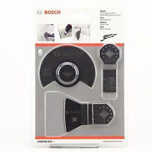 Bosch Outils Multifonction Tile Set 3 Pièces Bosch 2608662342 Ois-afficher Le Titre D'origine MatéRiaux De Choix