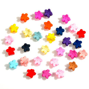 30pcs-Girls-Kids-Mini-Small-Flower-Hair-Claws-Clips-Clamps-Hair-Pin-Accessories