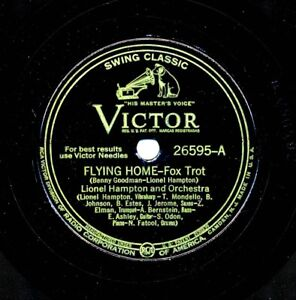 LIONEL HAMPTON 1940 Victor 26595 - Flying Home / Save It Pretty Mama