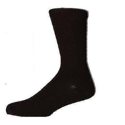 Calzini da Uomo NERA Taglia 11 12 13 14 Big Foot piedi EXTRA LARGE XL cotone