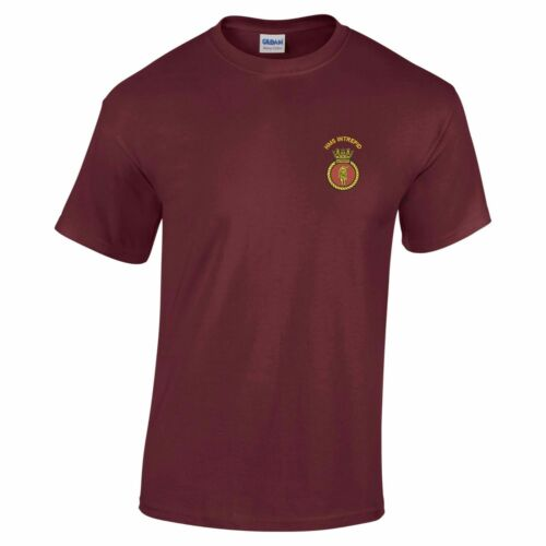 HMS Intrepid Embroidered T-Shirt