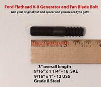 9/16 Ford Flathead V-8 Generator & Fan Blade Bolt