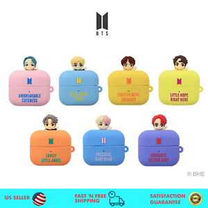 BTS Figure Airpods Case with Silicone Rubber for Apple Airpods Pro