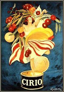 Cirio Foods Vintage Italian Advertising LARGE METAL TIN ...
