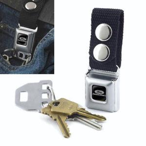 Schlüsselanhänger Accessoires & Fanartikel Original Ford Racing Pflaume Logo Schlüsselanhänger Anhänger Keychain Gürtelclip