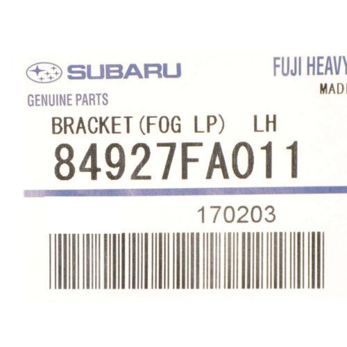 OEM 1999-2003 Subaru Front Left Fog Light Mount Bracket Impreza WRX 84927FA011