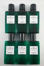Hermes d'Orange Verte Shampoo & Conditioner lot of 6 (3 of each) 1.4oz bottles