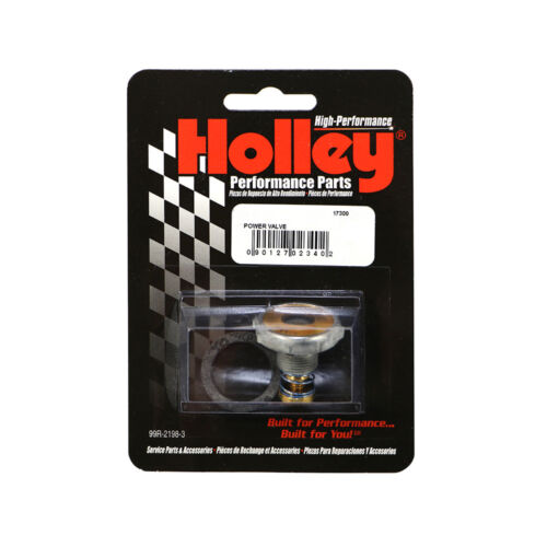 "Flow 9.5/"" Power Valve Replacement /& Gasket//Washer Holley 125-95 Carburetor STD"