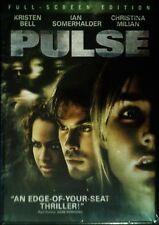 Pulse (DVD, 2006) RARE KRISTEN BELL IAN SOMERHALDER THRILLER BRAND NEW