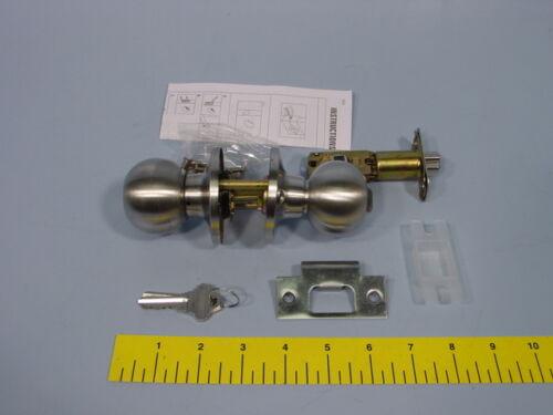 Details about  /Tell KT3581 RL100113 KT Series Entrance Knob Lockset Schlage Keyway
