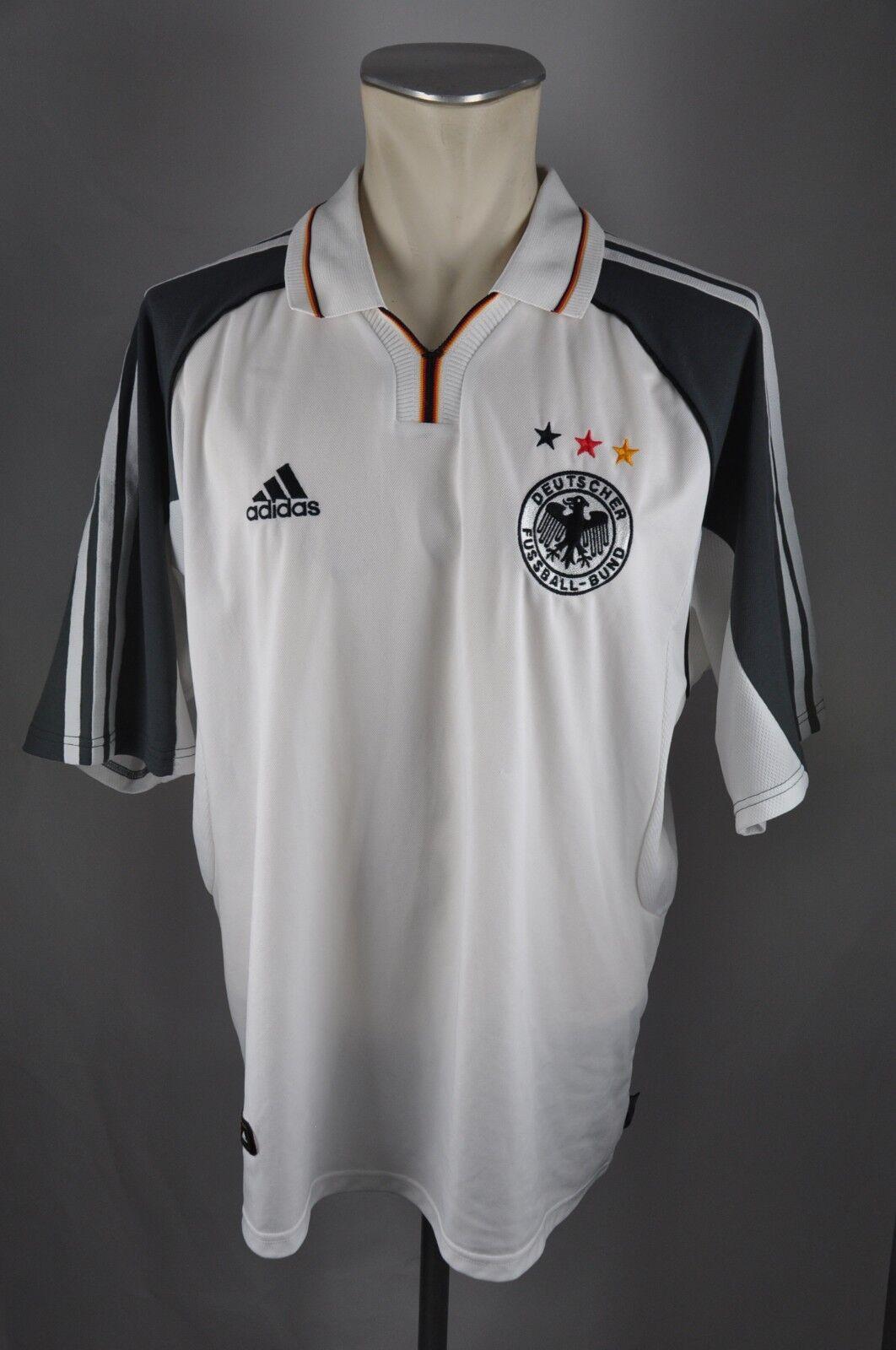 Deutschland Trikot 2000 Gr. XL  2 Adidas Jersey DFB Germany WM EM Shirt    Erste Qualität