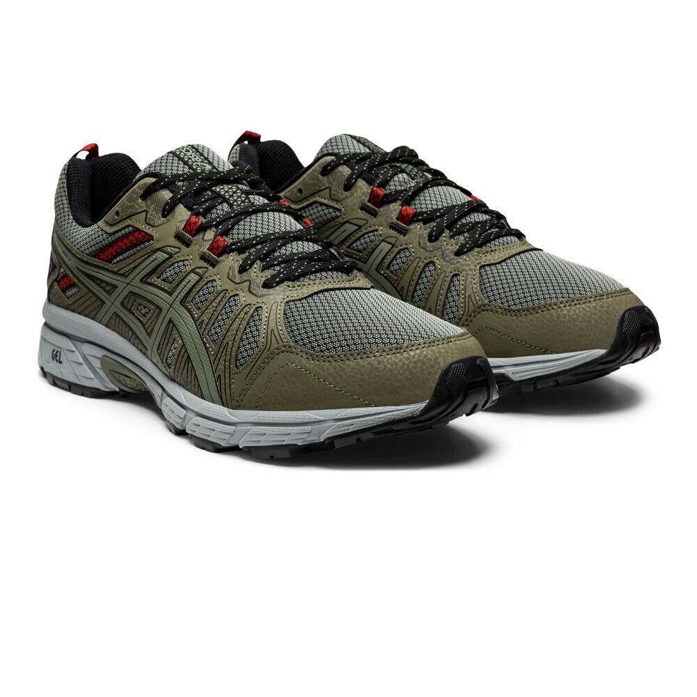 Asics Herren Gel-Venture 7 Trail Turnschuhe Laufschuhe Sport Turnschuhe Schuhe Grün
