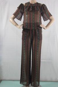 138-Bcbg-max-azria-NEW-Women-s-Top-SZ-M-Auburn-comb-Style-GUL1Y060-C2Y