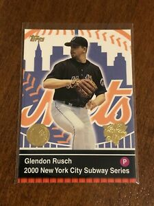 2000 World Series Topps Baseball Base Card #20 - Glendon Rusch - New York Mets