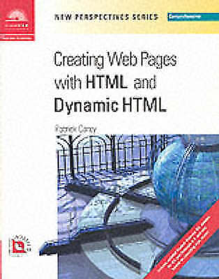 New Perspectives on Creating Web Pages with HTML and Dynamic HTML - Comprehensi