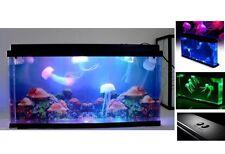 Regalo fantástico medusas tanque con luces LED medusas acuario Home Deco gigante