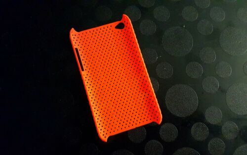 ORANGE Perforated Slim Case Apple iTouch 4G 4 G Gen