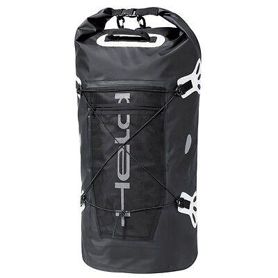 Held Motorcycle Roll Bag Waterproof Black Dry Motorbike Tail Pack Round Touring