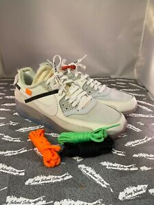 Details about Off-White Air Max 90 White PROMO Sample Sz9 AUTHENTIC FREE SHIPPING