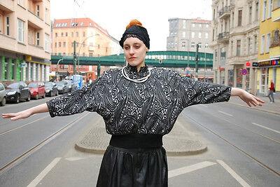 Obbiettivo Linek Modelli Pullover Nero Argento 80er True Vintage 80´s Manica Pipistrello-l It-it Mostra Il Titolo Originale Disponibile In Vari Disegni E Specifiche Per La Vostra Selezione