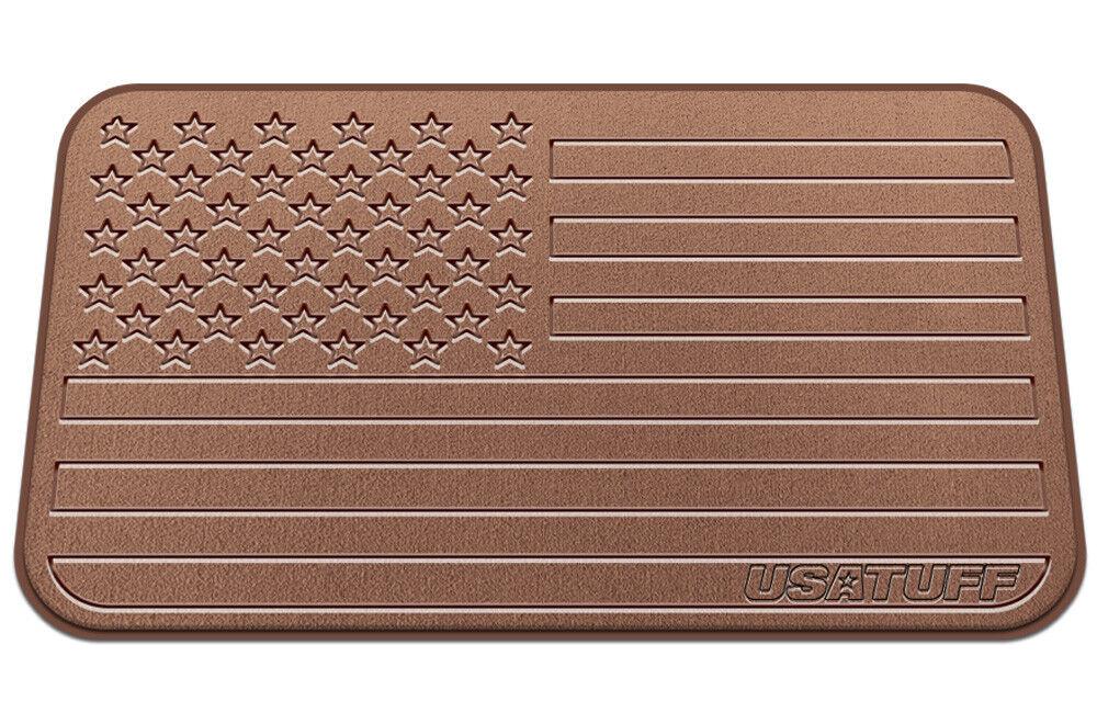 USATuff - - - ORCA Cooler Pad - Fits 20qt - Subdued USA Flag - Tan 12aeb4