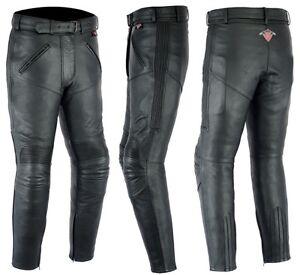 texpeed-femmes-cuir-vachette-Pantalon-moto-avec-amovible-Renfort-CE