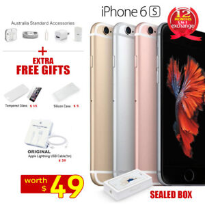 New-in-Sealed-Box-APPLE-iPhone-6S-16GB-64GB-128GB-1Yr-Wty-Factory-Unlocked-Gifts