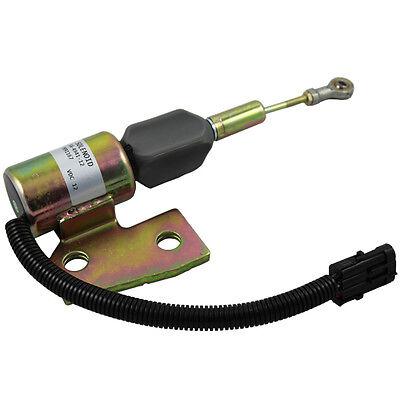 Fuel Shut off Solenoid J991167 3991167 87420952 for Case IH 580M 60XT 70XT 90XT 688G New Holland U80 LV80