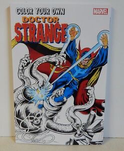 Marvel Comics Color Your Own Doctor Strange Adult Coloring Book ...
