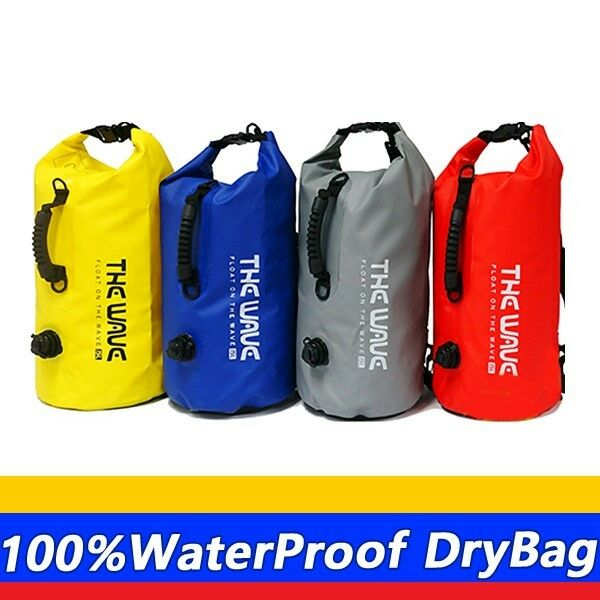 Camping Dry bag Waterproof Bag Outdoor Bag 15L the wave