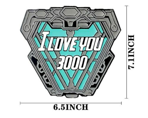 Iron Man I Love You 3000 Saying Iron on Heat Transfer Patch