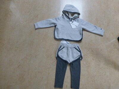 2-tlg Babyset, Sweatschirt +leggings Mit Shorts, Kapuzensweatjacke Gr.80 Mädchen