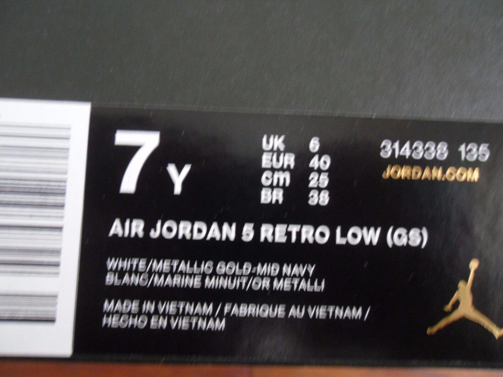 NIKE AIR JORDAN 5 RETRO LOW (GS) (GS) (GS) DUNK FROM ABOVE SZ 7Y-WMNS SZ 8.5 7e5891