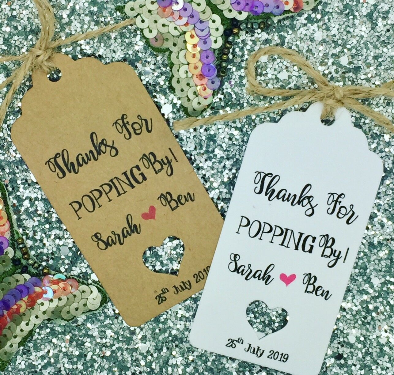 Thanks For Popping By, Wedding Favour Gift Tag, Popcorn, Bridal Shower Gift