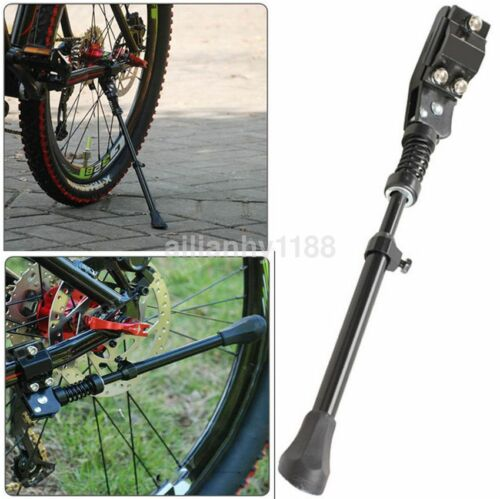 "Adjustable Bicycle Kickstand Cycling Mountain Bike Rear Size Kick Stand 24/"" 26/"""