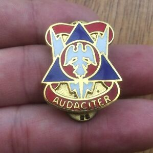 Image Is Loading US Army 78th Infantry Audaciter Training Division Enamel